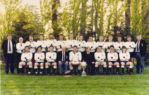 Junior Cup winners 1987